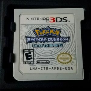 Pokemon Mystery Dungeon Gates to Infinity 3DS 2DS